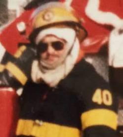 Al. Bergner turnouts Santa Ride